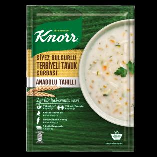 Knorr Siyez Bulgurlu Terbiyeli Tavuk Çorbası