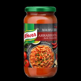 Knorr Acılı ve Domatesli Arrabbiata Makarna Sosu 340 gr